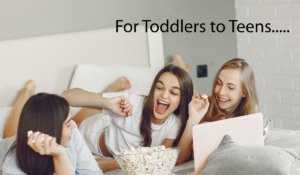 Toddlers to teens